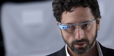 Page and Google Glass