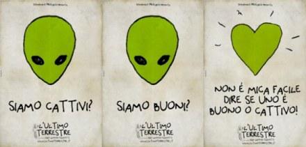 teaser poster de L'Ultimo terrestre
